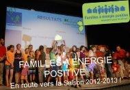 Classement final 2011-2012, bilan Pays de la Loire - Familles à ...