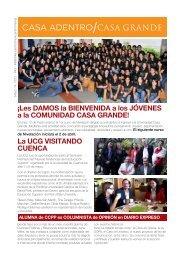 Casa Adentro Mar 14 - Universidad Casa Grande
