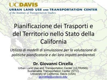 Pianificazione dei Trasporti e del Territorio nello Stato ... - CReMSS