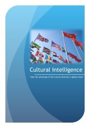 U-COACHING brochure - Cultural and Management Consulting