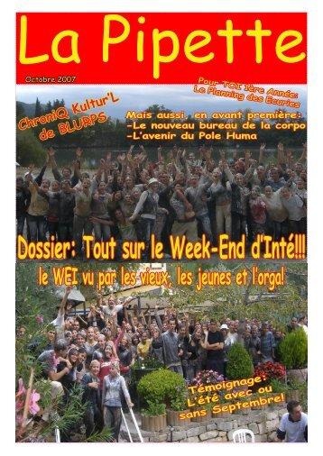Dossier: Tout sur le Week-End d'Inté!!! - AE2P