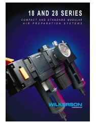 18 and 28 series - Wilkerson Corporation