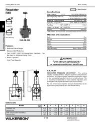 R40 Series - Wilkerson Corporation