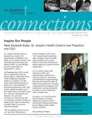 August 20, 2012 - St. Joseph's Health Centre Toronto