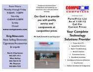 Your Complete Technology Solutions Provider - Compuzone ...