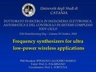 motivation - Phd.dees.unict.it - Università degli Studi di Catania