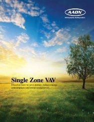 Single Zone VAV - VEMCO, Inc.