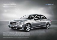 E-Klass Sedan Business. - Mercedes-Benz