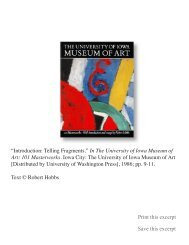 Introduction: Telling Fragments - Robert Hobbs