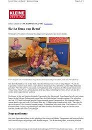 Sie ist Oma von Beruf - Tagesmütter Steiermark