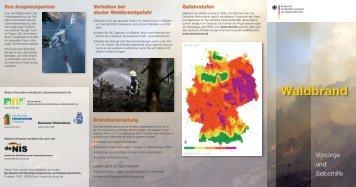 Waldbrand - Bildungszentrum für Gesundheitsberufe Wesel