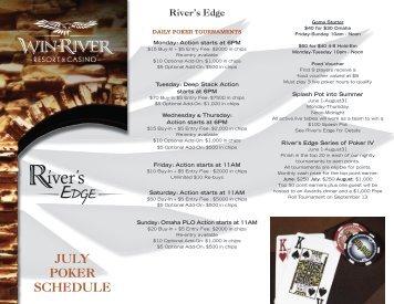 River S Edge Poker Room