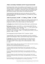 Aftaler om betaling i forbindelse med frit valg på skoleområdet Aftale ...
