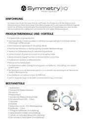 Symmetry IQ 4000 User Manual - Hu-Friedy