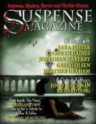 Suspense Magazine March 2013