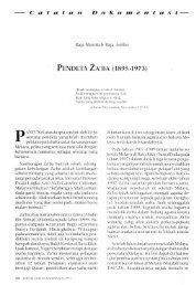 PENDETA ZA*BA (1895-1973) - Malay Civilization