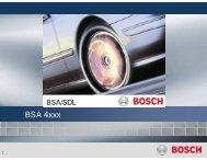 Bosch BSA 4xxx - RUNE Piese Auto