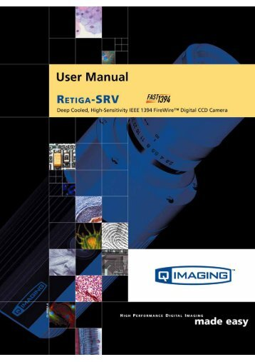 Retiga-SRV User's Manual - QImaging