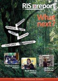 Issue 3 - Rome International School