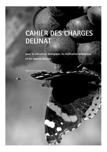 CAHIER DES CHARGES DELINAT - Dc.delinat-institut.org - Delinat ...