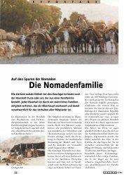 Auf Den Spuren Der Nomaden Die Nomadenfamilie - Galerie Kistler