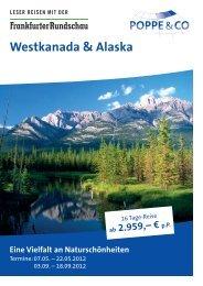 Westkanada & Alaska - Frankfurter Rundschau