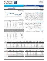 التقرير اليومي للسوق السعودي - Al Rajhi Capital