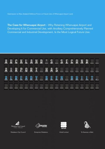 The Case for Whenuapai Airport – Why Retaining ... - Infratil