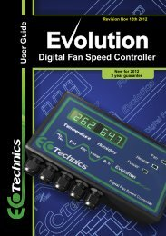 Digital Fan Speed  Controller - Ecotechnics