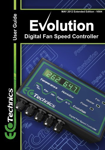 Digital Fan Speed  Controller - greencustard