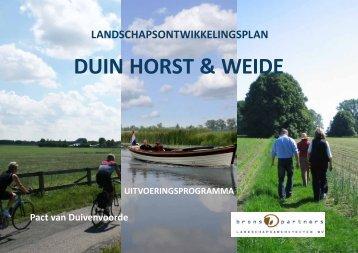 Uitvoeringsprogramma - Brons en Partners Landschapsarchitecten BV