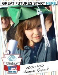 2009-2010 Annual Report - Boys and Girls Club | of Harrisonburg ...