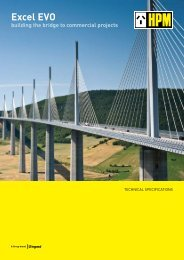 Excel EVO building the bridge to commercial projects - HPM