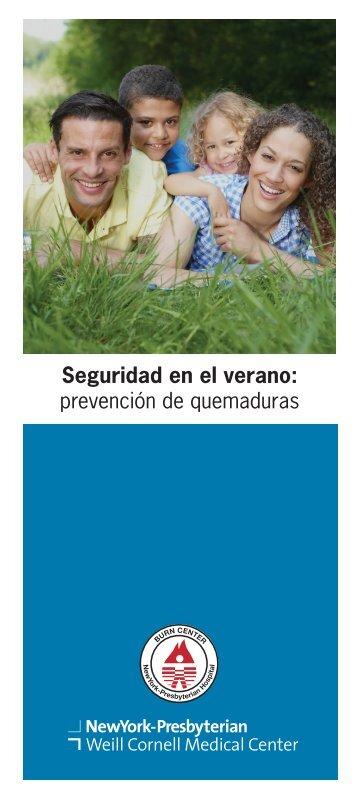 Seguridad en el verano: prevención de quemaduras - New York ...
