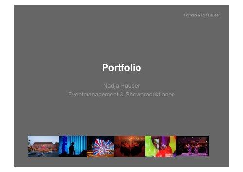 Download Portfolio PDF (8.9MB) - Nadja Hauser