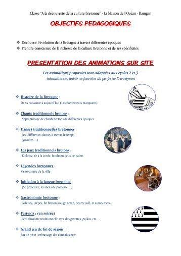 A la découverte de la culture bretonne - Damgan - Pep
