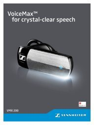 VoiceMax™ for crystal-clear speech - Aplauz
