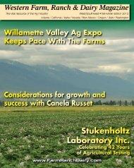 Western Farm, Ranch & Dairy Magazine - Ritz Family Publishing, Inc.