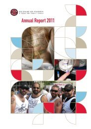 NZAF Annual Report 2011 - New Zealand Aids Foundation