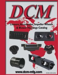 Louvers and Accessories - DCM Manufacturing Inc.