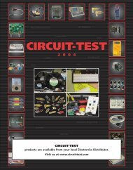 New! - Circuit Test Electronics