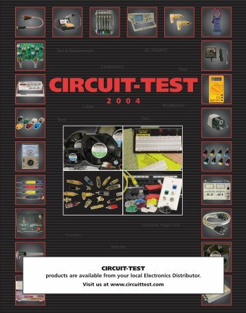 New! - Circuit Test Electronics