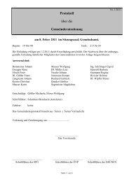 Protokoll zur Sitzung am 08.02.2011 - Ligist
