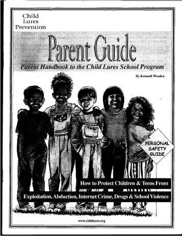 Child Lure Parent Guide English (pdf)