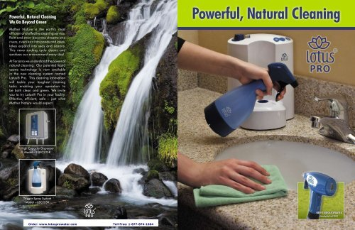 Powerful, Natural Cleaning - DIRTT Environmental Solutions