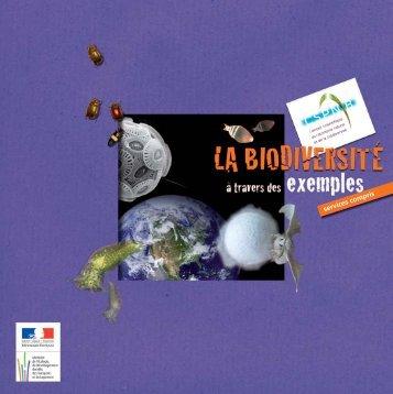 La biodiversité à travers des exemples, services compris - Webissimo