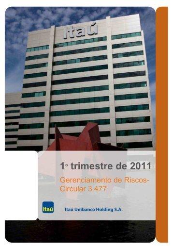 BANCO ITAU UNIBANCO_Circ. 3477_31032011-Revisadas