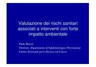 Paolo Bruzzi, Direttore del Dipartimento di ... - Urban Center