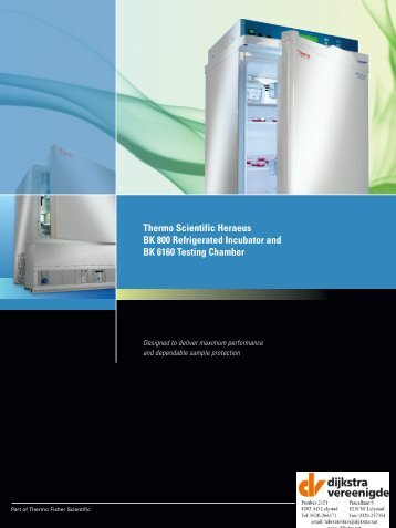 Thermo Scientific Heraeus BK 6160 Testing Chamber