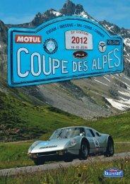 20 cols 27 726 m de dénivélation COUPE DES ALPES ... - Rallystory